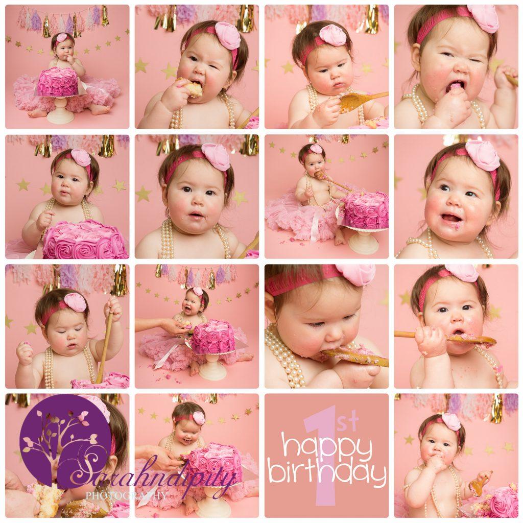 Cakesmash Essex grays portrait photography 1st birthday