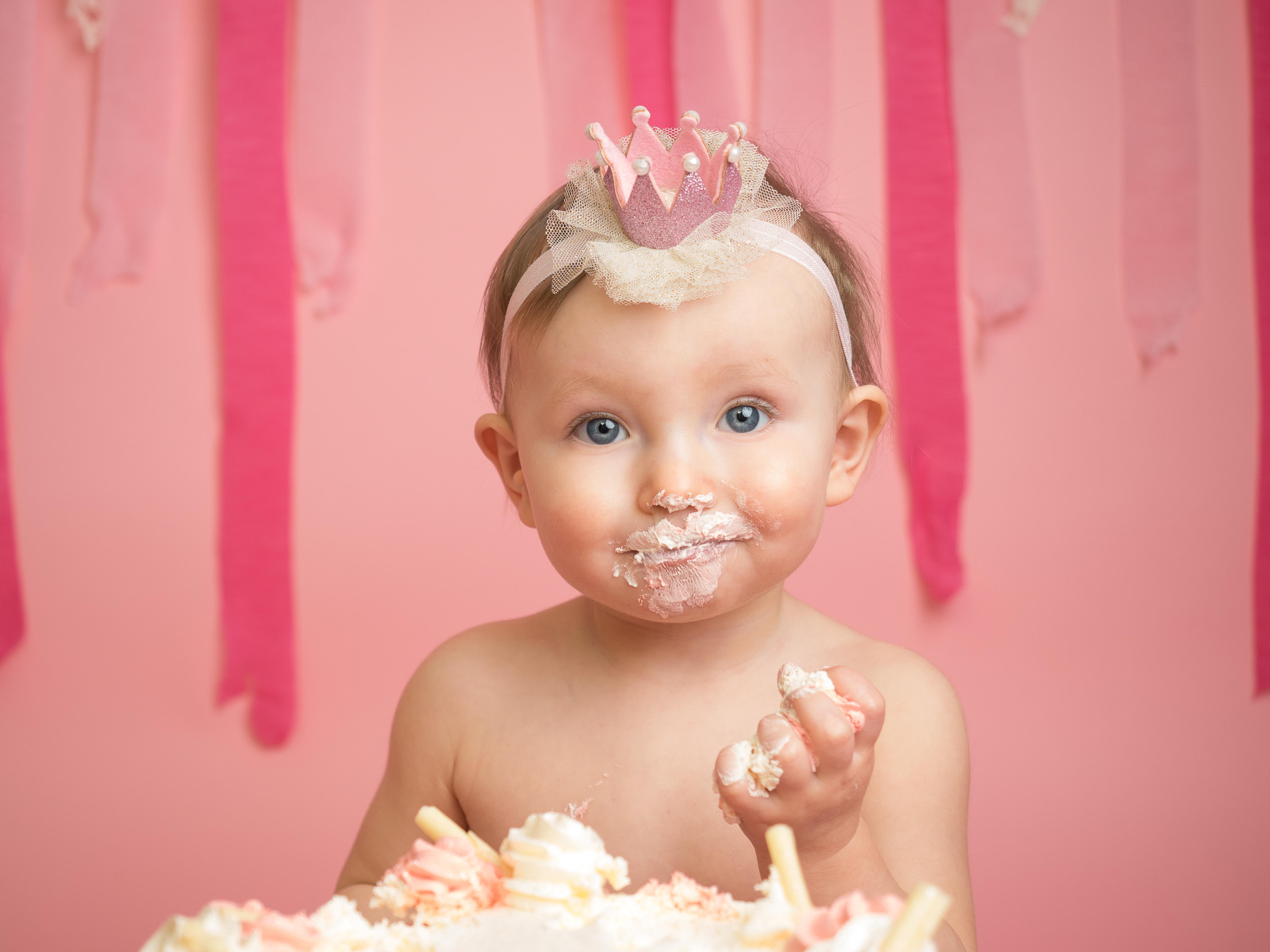 Remarkable Cakesmash 1St Birthday Session Gallery Funny Birthday Cards Online Aeocydamsfinfo